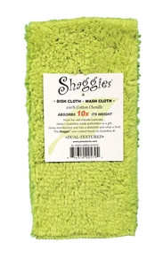 Limealicious Shaggies by Janey Lynn's Designs.  The super soft multipurpose cloth that goes with EVERY decor.