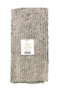 Goosie Grey Shaggie Towel by Janey Lynn's Designs