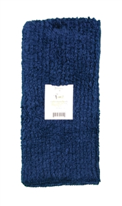 Blue Jewel Shaggie Towel by Janey Lynn's Designs